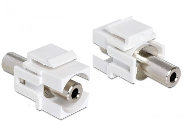 Delock 86322 Keystone Modul Klinke 3,5mm Buchse > Klinke 3,5mm Buchse