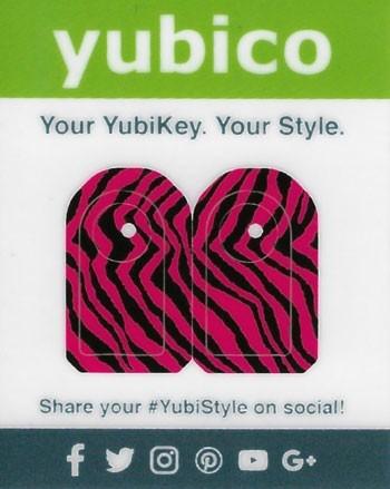 YubiStyle Cover - 5C - Pink Zebra