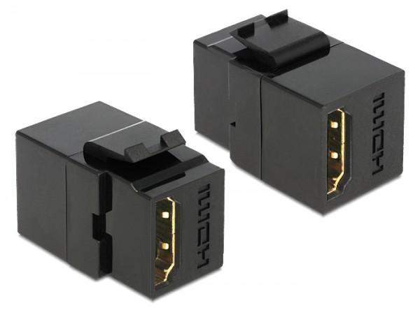 Delock 86366 Keystone Modul HDMI Buchse > HDMI Buchse schwarz