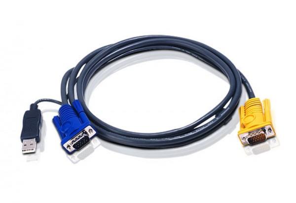 Aten KVM USB Kabel 2L-5206UP