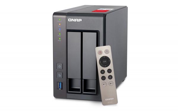 QNAP TS--251+-2G 2GB 2.0GHz 2-Bay NAS