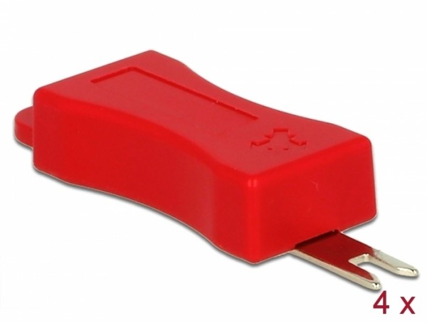 Delock 86412 Werkzeug für RJ45 Secure Clip 4 Stück