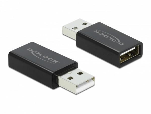Delock 66529 USB Typ-A Datenblocker schwarz