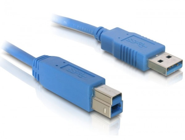 Delock Kabel USB 3.0 Typ-A Stecker > USB 3.0 Typ-B Stecker