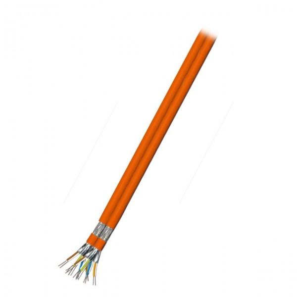 INFRALAN® Cat.7 Verlegekabel 50m duplex S/FTP