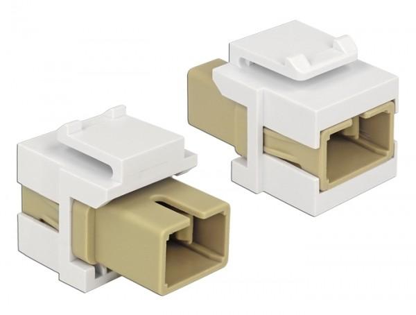 Delock 86331 Keystone Modul SC Simplex Buchse > SC Simplex Buchse