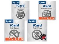 ZyXEL E-iCard 1 Jahr USG1100 Cont/Spam/Kasp/IDP