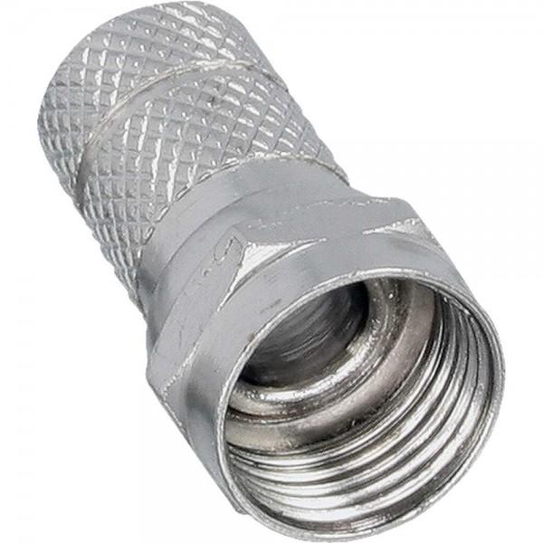 InLine F-Stecker für Koaxialkabel mit Aussenmantel 8,2mm 10er Pack