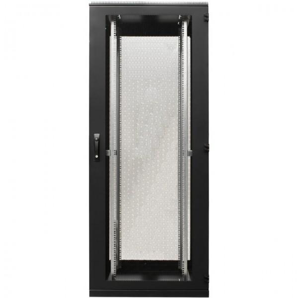 """19\"""" Serverschrank 42HE 1-teilige Türen Schwarz"""