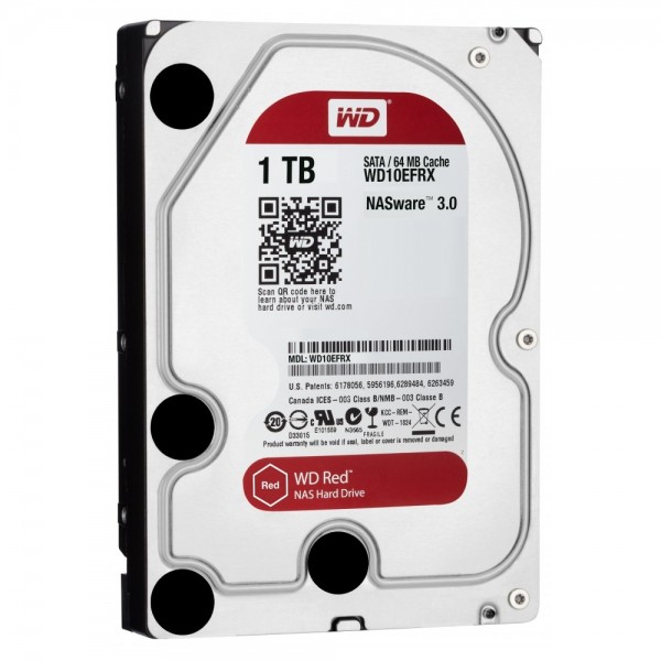 WD Red NAS Hard Drive 1 TB Interne Festplatte - 3,5 Zoll WD10EFRX