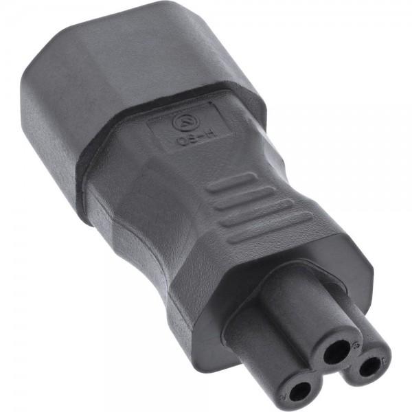 InLine Netzadapter IEC 60320 C14 / C5 Kaltgeräte / Notebook