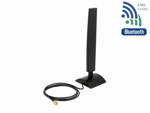 Delock 88901 WLAN 802.11 ac/a/h/b/g/n Antenne RP-SMA Stecker