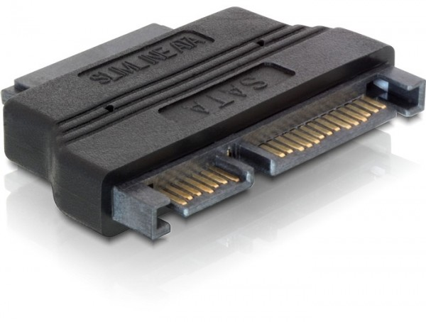Delock Adapter SATA 22 Pin > Slim SATA 13 Pin