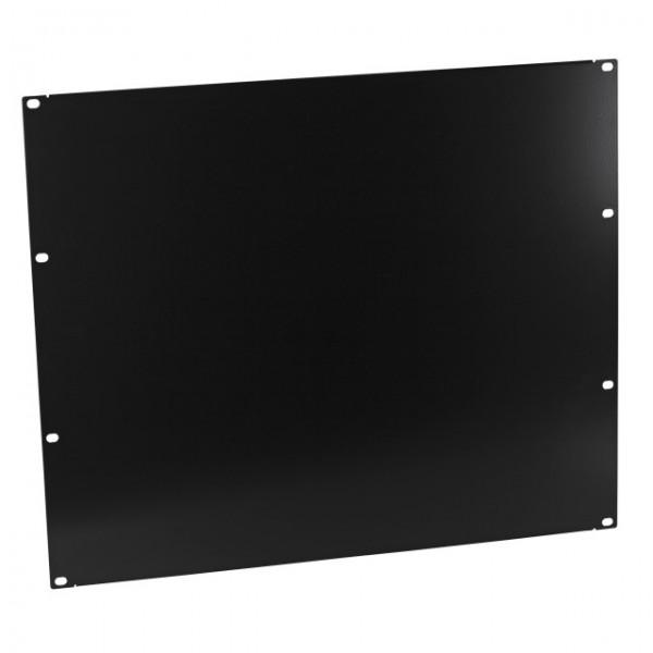 """19\"""" 9HE Blindplatte RAL9005 Schwarz"""