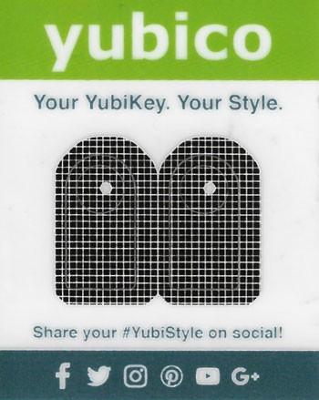 YubiStyle Cover - 5C - Gitter