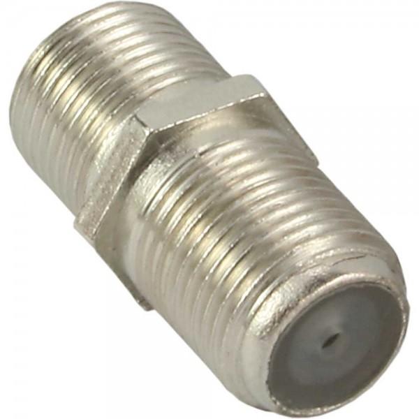 InLine SAT F-Verbinder (Doppelbuchse, F-Kupplung) 10er Pack