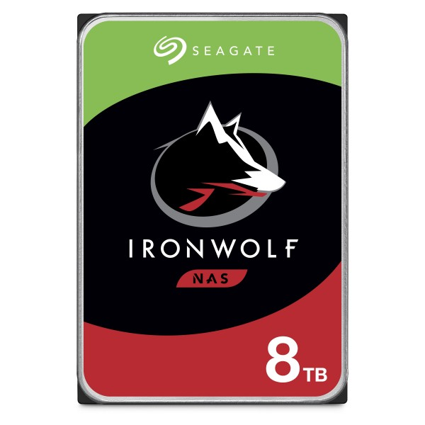 Seagate IronWolf NAS Festplatte 8TB - ST8000VN0022