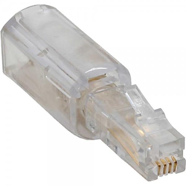InLine® Twist-Stop Entwirrer für Kabel von Telefonhörer, schmale kurze Bauform