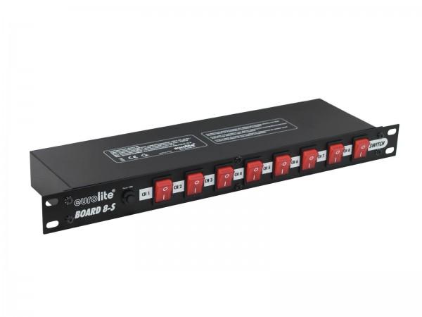 eurolite Board 8-S Schaltpanel mit 8 Schaltern