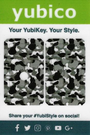 YubiStyle Cover - 5 NFC & 5C NFC - Urban Camo